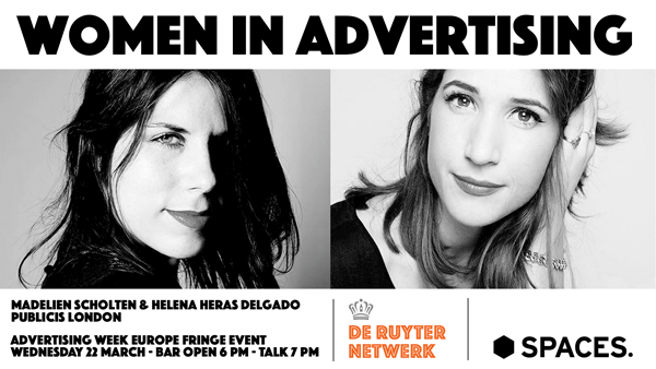 Women in Advertising - Madelien Scholten - Helena Heras Delgado