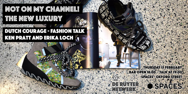 De Ruyter on fashio: Not on my channel!