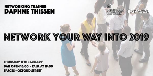 De Ruyter 17 January 2019 - Network your way into 2019